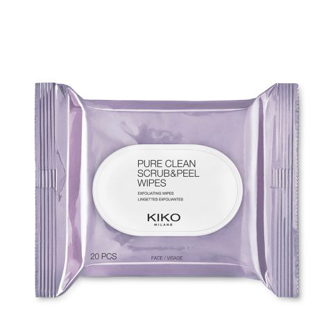 PURE CLEAN SCRUB&PEEL WIPES exfoliating wipes