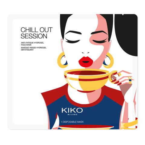 CHILL OUT SESSION anti-fatigue hydrogel face mask