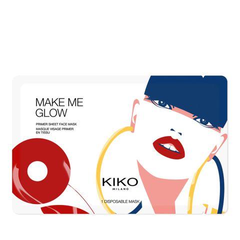 MAKE ME GLOW primer sheet face mask