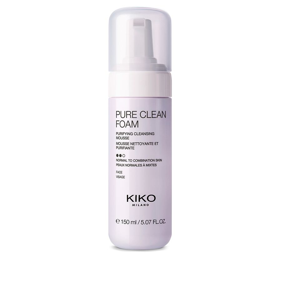 PURE CLEAN FOAM purifying cleansing mousse