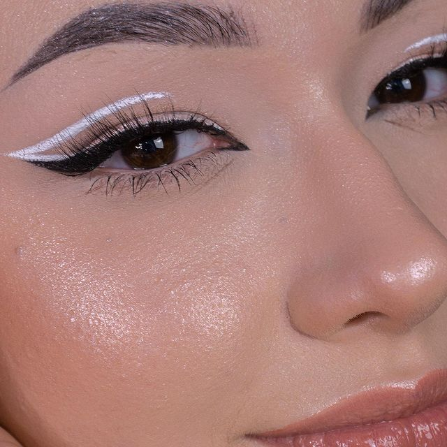 Photo shared by Dominika | MAKEUP | BEAUTY on March 11, 2021 tagging @makeuprevolution, @lorealparis, @suvabeauty, @makeupobsessionpolska, @kolorowkacom, and @makeupinthecitypl. May be a closeup of one or more people and cosmetics.